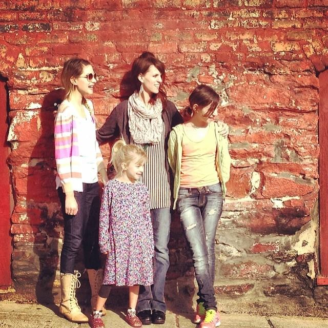 Gerber girls in Asheville