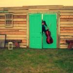 Surprise cellist crashing a wedding  in Wisconsin