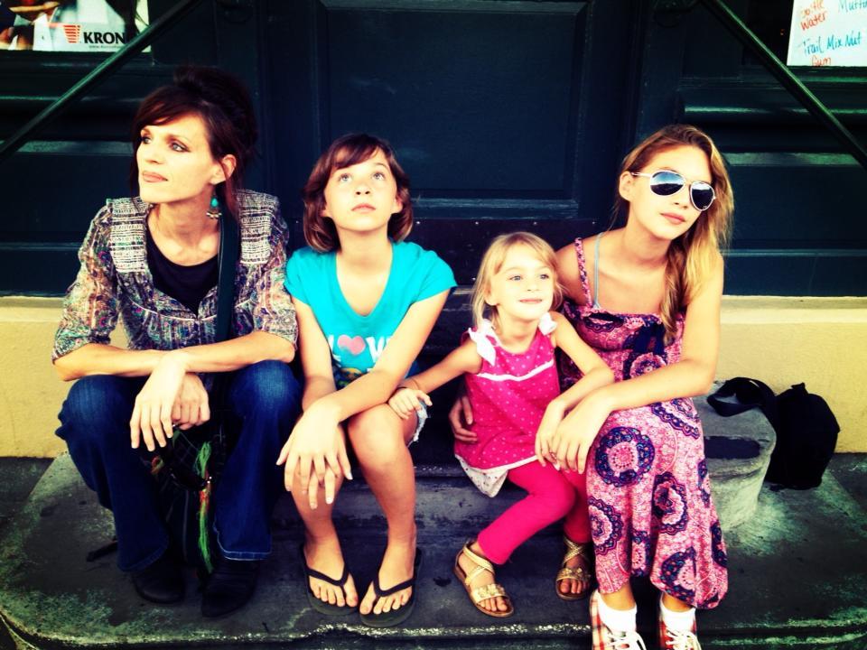 My girls and I in Charleston