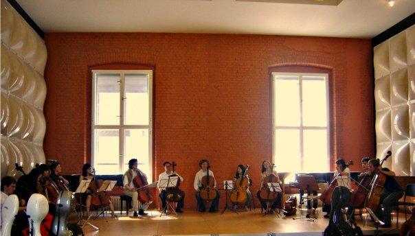 Cello Class reunion in Berlin