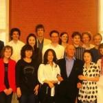 Cello class reunion with Professor Schwab